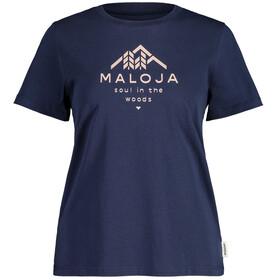 Maloja PlataneM. SS T-shirt Damer, blå